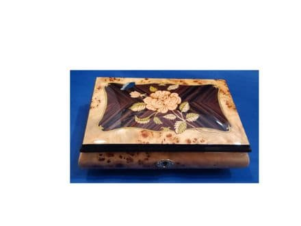 Inlaid Musical Jewellery Box 46/1RC Pioppo