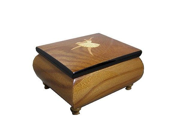 Inlaid Musical Jewellery Box AD411DLEL