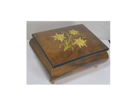 Inlaid Musical Jewellery Box MAD415ELBRL