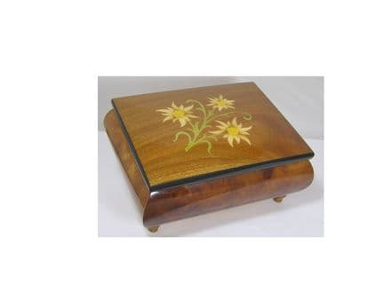 Inlaid Musical Jewellery Box MAD415ELELL