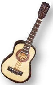 Miniature Musical Acoustic Guitar 16093