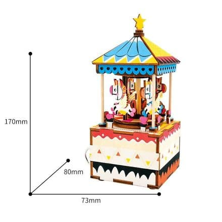 Music Box Kit - Merry Go Round