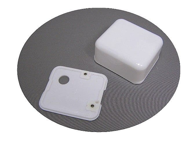 Plastic Cover For Music Box Movements.