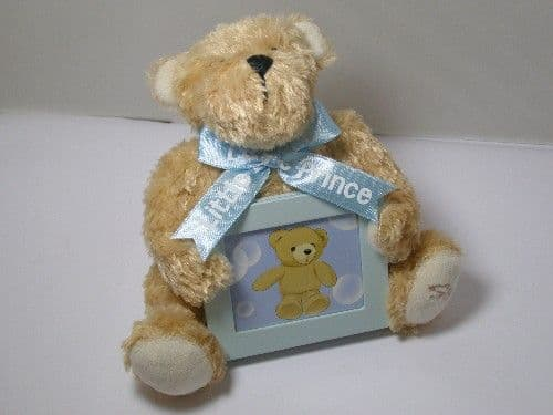 Musical Teddy Bear Picture Frame