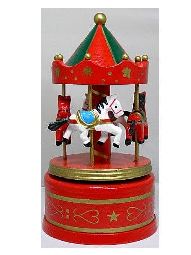 Carousels & Musical Miniature Merry Go Rounds from Shop 4 Music Boxes & The Music Box Shop
