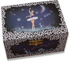 Night Time Ballerina Music Box CB1