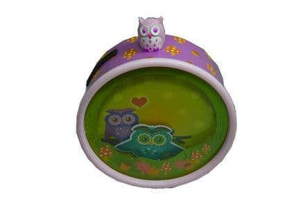 Owl Musical Money Box 22171