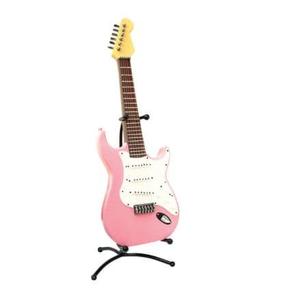 Pink Electric Guitar Money Box