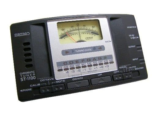 Seiko Auto / Manual (Tuner 12) ST.1100, available at The Music Box Shop, Whitchurch, Near Bristol, England, UK.