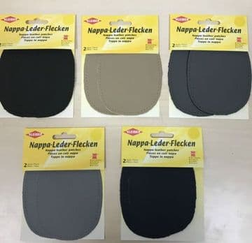 KLEIBER NAPPA LEATHER SEW ON PATCHES SUITABLE FOR KNEES ELBOWS