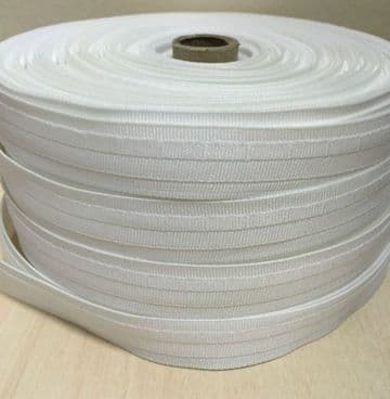 Roman Blind Tape 19mm (3/4 inch) ~White ~High Quality Polyester~Various Lengths
