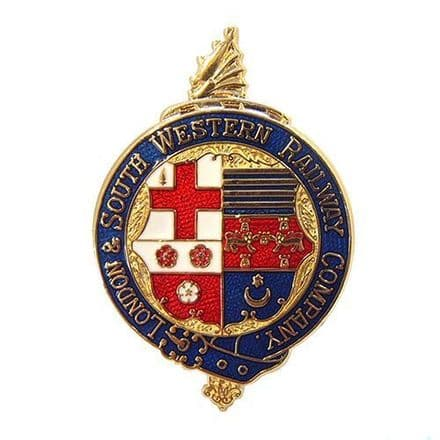 London and South Western Railway (LSWR) Coat Of Arms Collectors Badge