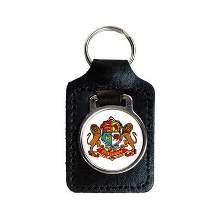Personalised Leather Key fob