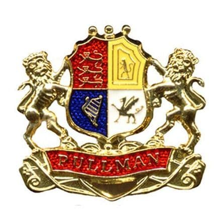 Pullman Coat Of Arms Collectors Badge