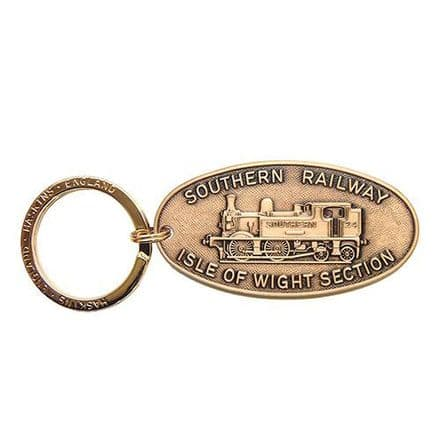 Southern Railway Isle of White Section Key Ring