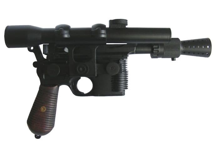 HAN SOLO ANH DL-44 FULLY  FINISHED V2  BLASTER