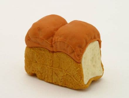 IWAKO NOVELTY ERASERS / RUBBERS -loaf of bread