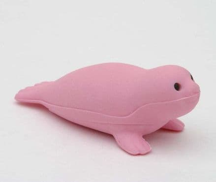 IWAKO NOVELTY ERASERS / RUBBERS - PINK SEAL