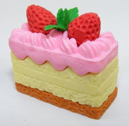 IWAKO NOVELTY ERASERS/RUBBERS - PINK TOP CAKE