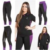 FIREFOOT BLACK / PLUM COLLECTION