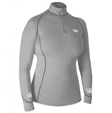 Woof Wear Colour Fusion Performance Riding Shirt, Brushed Steel