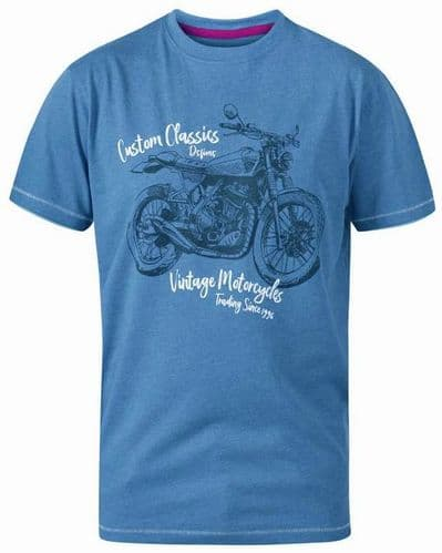 D555 CONOR - MOTORCYCLE T SHIRT