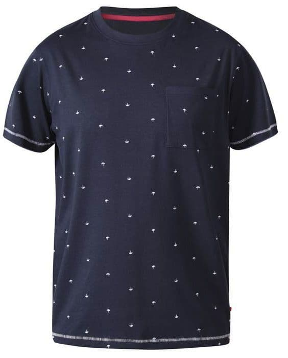 D555 FORBES - ALL OVER PRINT T SHIRT