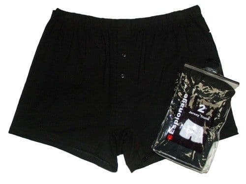ESPIONAGE 2 PACK Jersey Knit  Boxer Shorts