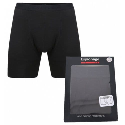 ESPIONAGE Bamboo Fitted Trunk  Boxer Short