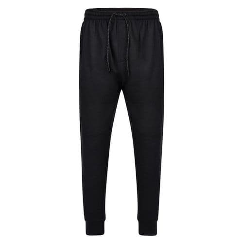 ESPIONAGE Elasticated Cuff Fleece Joggers