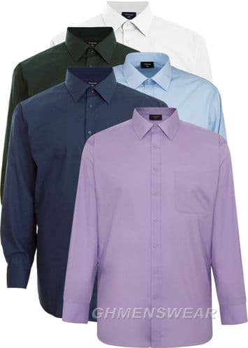 Espionage Long Sleeved Regular Collar Shirt