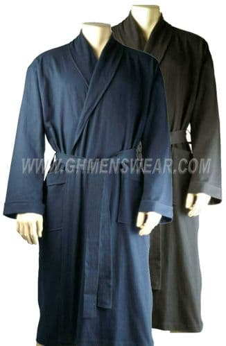Jersey Cotton Bathrobe / Dressing Gown