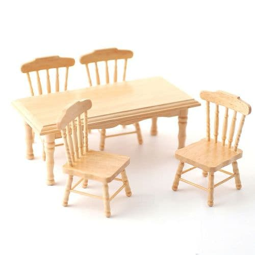 Pine Kitchen table and Chairs DF131P