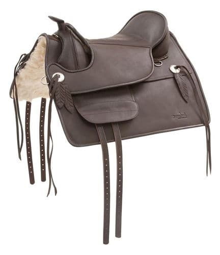 Barefoot 'Nevda' Treeless Saddle
