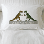Personalised Dinosaur Pillowcase - Dinosaur Friends