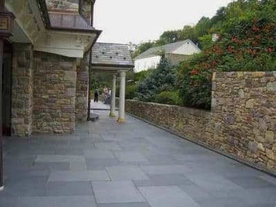 18 m2 Full Crate Brazilian Black Riven Patio  Pavers 1200 x 600 x 20 mm only £ 647.82