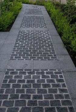 Black Cobble Stones|  Black Driveway Paving Setts | Landscaping Cobbles | Edging Cobbles  | Sussex  |