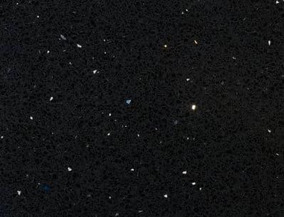 Black Quartz (Sparkling Starlight) Tiles 300mm x 300mm x 12mm
