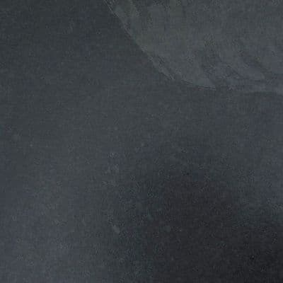 Calibrated Brazilian Black Riven Slate  400 mm x 400 mm x 10 mm UK supplied