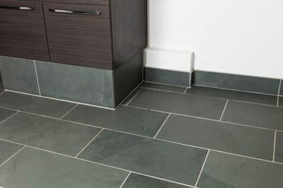 Grey calibrated  Brazilian Slate Tiles 600 mm x 300 mm x 10 mm perfect for  flooring & walls