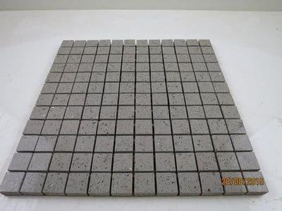 Grey Quartz Mosaic  sparkling tiles for backsplash ,Bathrooms or Kitchens only £ 8.99 per sheet