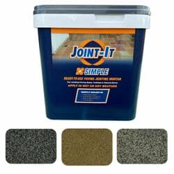 JOINT-IT (20KG) | BRUSH-IN JOINTING COMPOUND DARK GREY