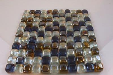 LIMA CHUNKY GLASS MOSAIC TILE  (LM02)