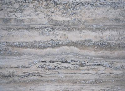 Premium Silver Aurelius Travertine Polished & Filled 610 mm  x 406 mm wall & floor tile
