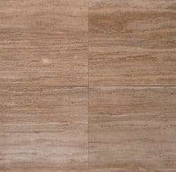 Premium Vein Cut Walnut Travertine Filled & Polished 610 x 406