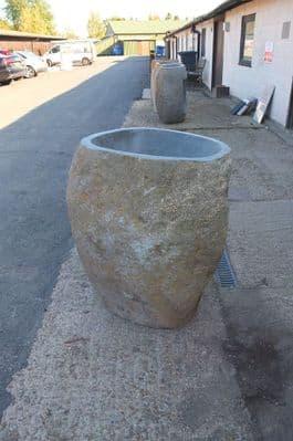 River Rock Boulder Pedestal Wash Basin  930mm x 650 mm x 580 mm