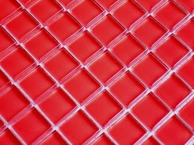 ROJO GLASS MOSAIC TILES ( A44)
