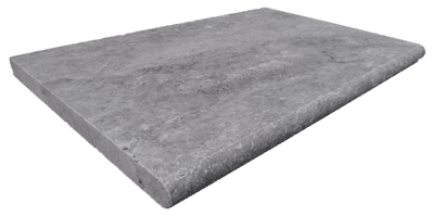 Silver Travertine Pool Coping  Bullnosed Steps 610 x 406 x30