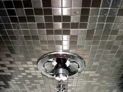 Stainless Steel Mosaic Tile Full Sheet 48 mm x 48 mm x 4 mm (  cp1319 )