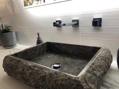 Surrey Grey  Marble Wash basin  50 cm x 40 cm Bathroom